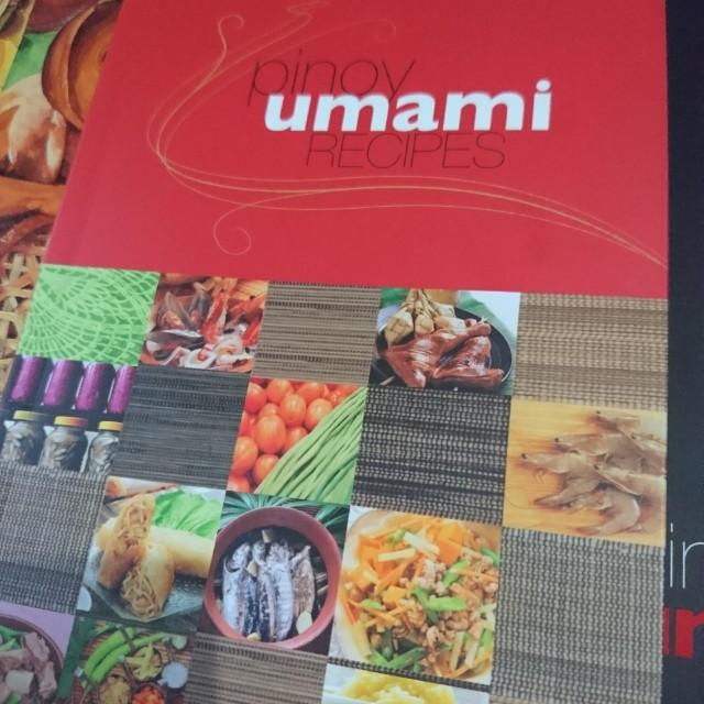 Pinoy Umami Recipes (Cook Book)
