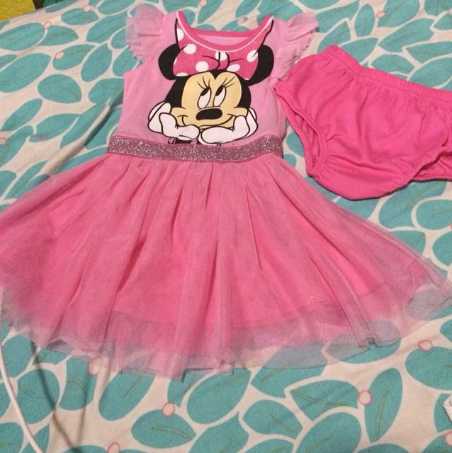 Pre loved Disney pink tutu dress (24months)