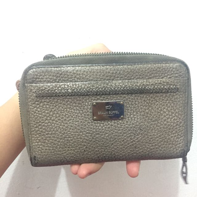 Preloved dompet braun buffel german original