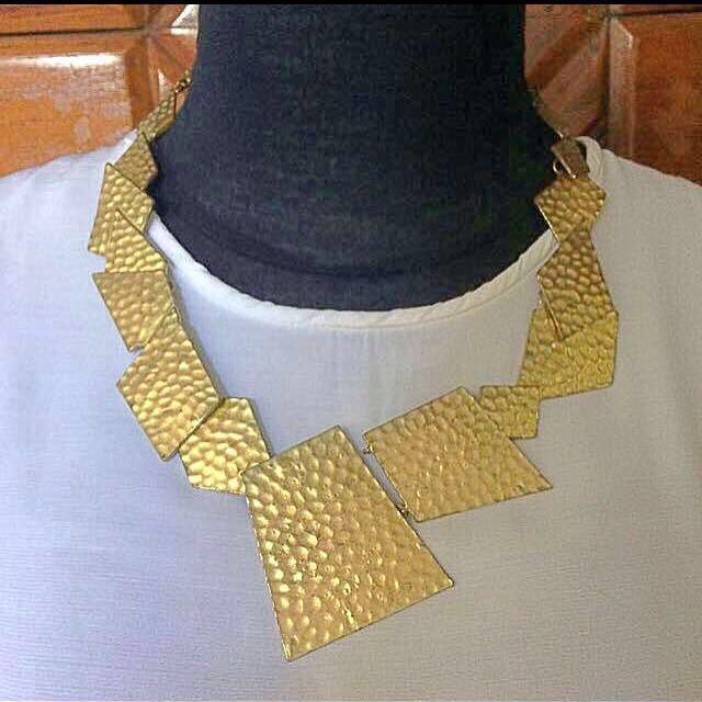 Preloved Goldish Necklace