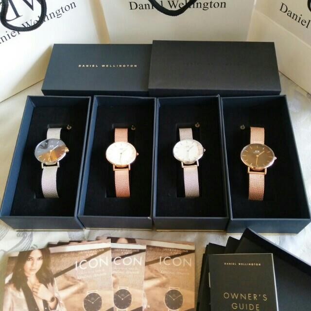 Promo Daniel Wellington Watch Import Original