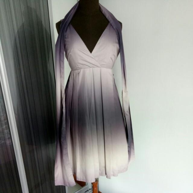 Purple Ombre Evening Prom Dress, Women\'s Fashion, Clothes, Dresses ...