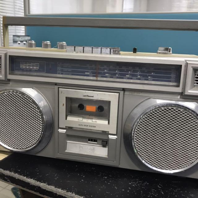 Radio & Cassette Player