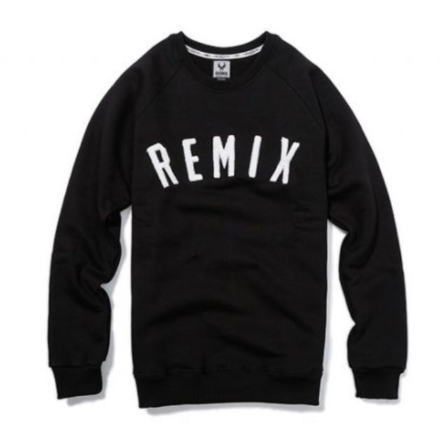 Remix sweater 黑 XL