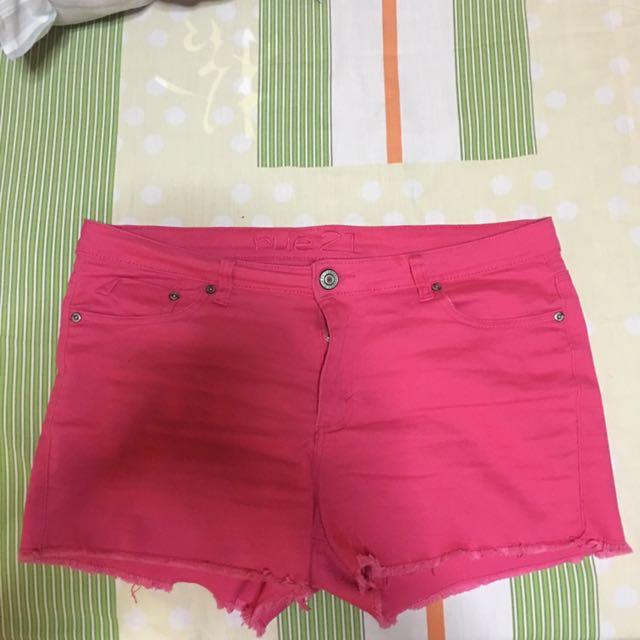 Rue 21 Pink Shorts XXL-3XL/US 15-16