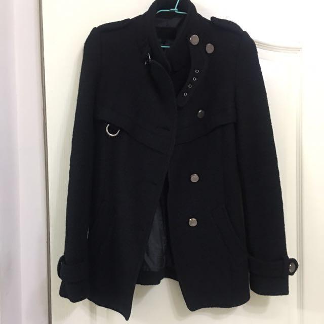 外套(黑色毛料S號)