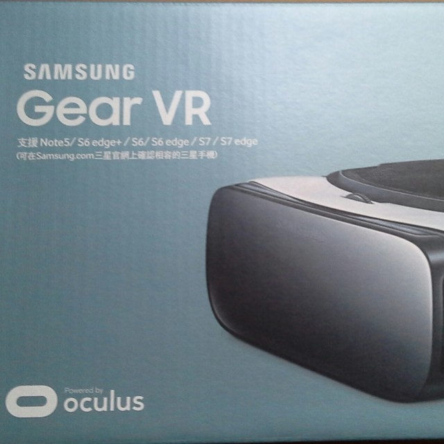Samsung專屬Gear VR頭戴顯示器