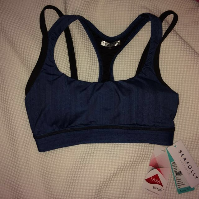 sea folly sports bra