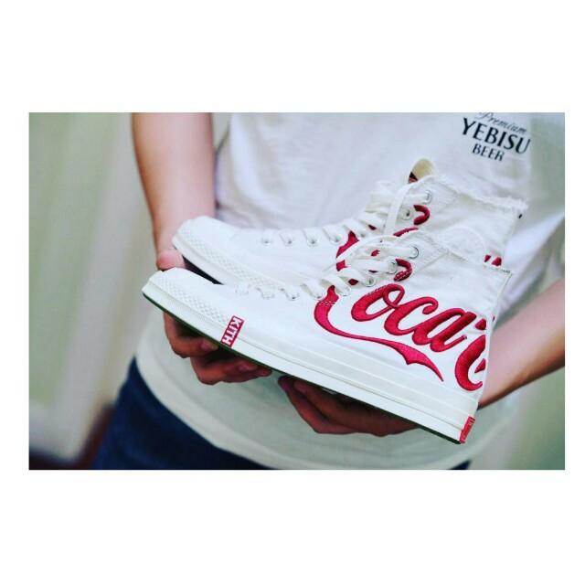 Sepatu Converse All Star Chuck Taylor 70s Hi x Kith x Coca Cola Series