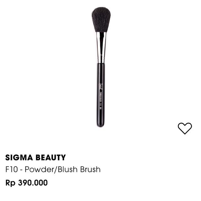 Sigma Powder/Blush F10