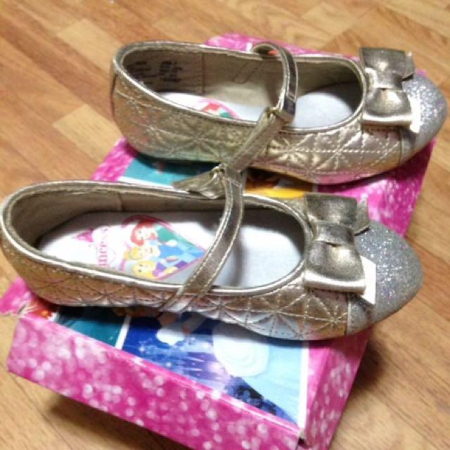 Silver Dollshoes