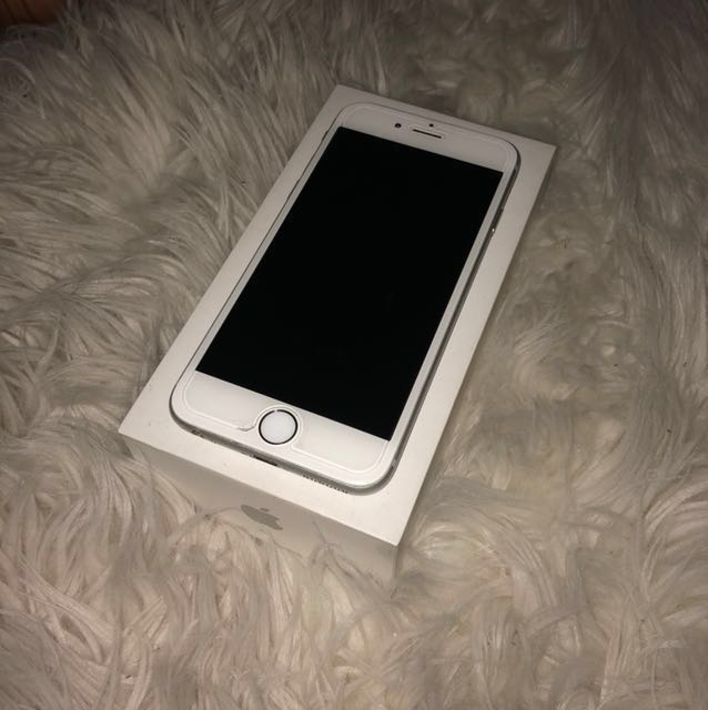 Silver iPhone 6 64GB