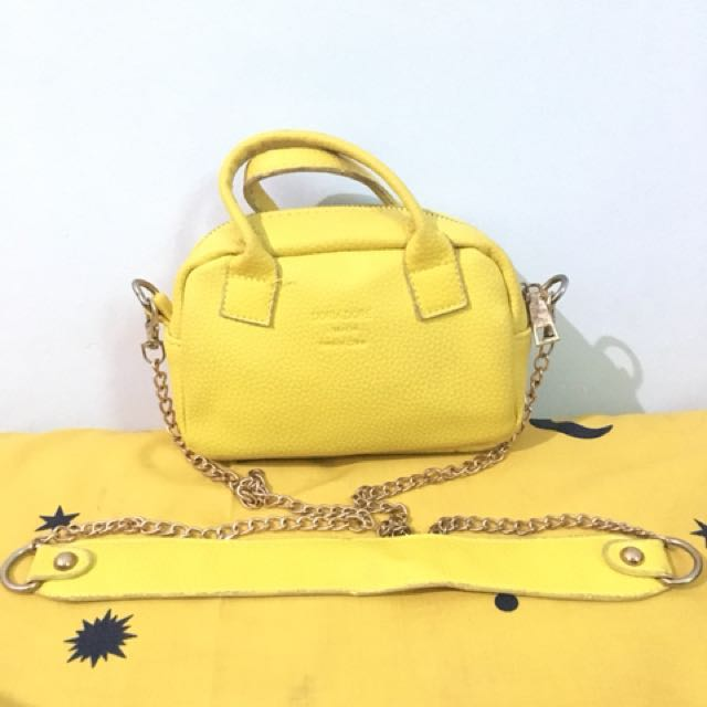 Slingbag yellow