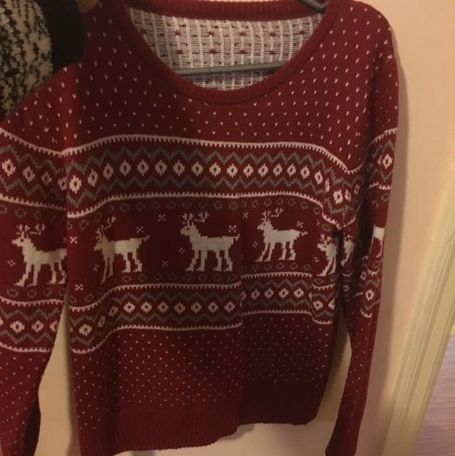 Small-medium Christmas sweater