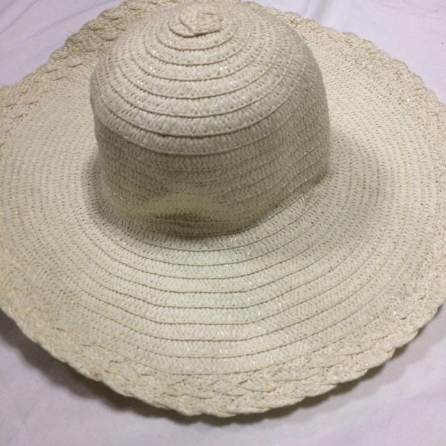Straw Hat (White)
