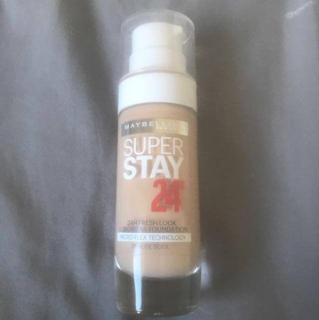 Super Stay 24h foundation