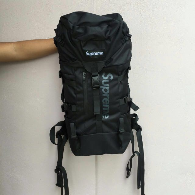 SUPREME TRAVEL BACKPACK, Men's Fashion, Bags & Wallets On Carousell