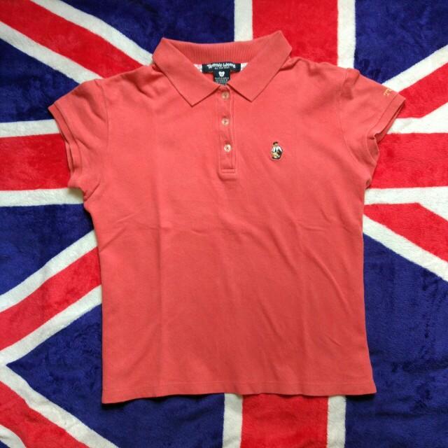 Teenie Weenie Poloshirt Peach Sz S PxL : 49x42 Kondisi 95% Price 55k