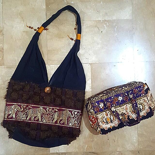 Thailand Bags (shoulder & handbag)