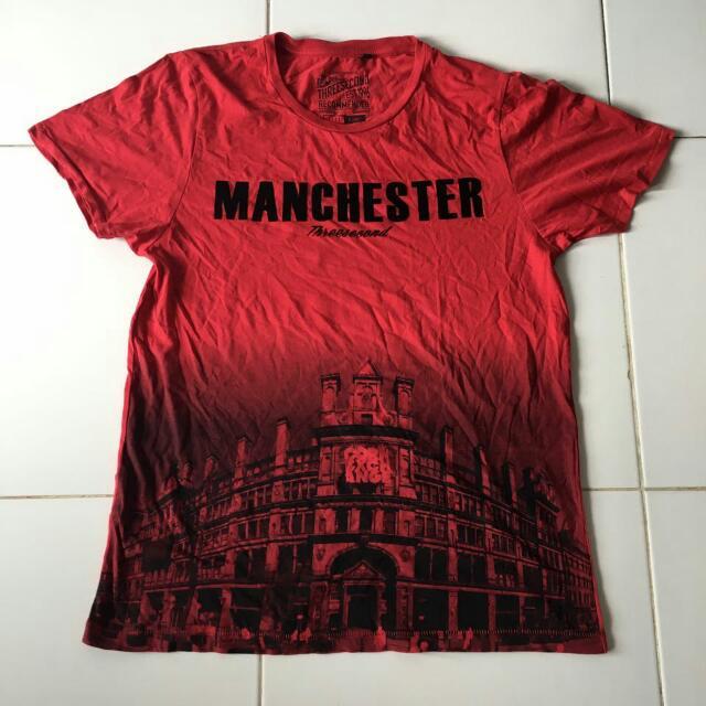 Three Second Tshirt Manchester