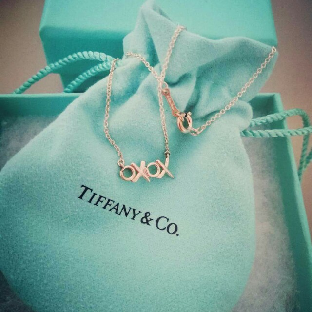 ecdb992691fd1 Tiffany & Co Necklace - XOXO, Luxury, Accessories on Carousell