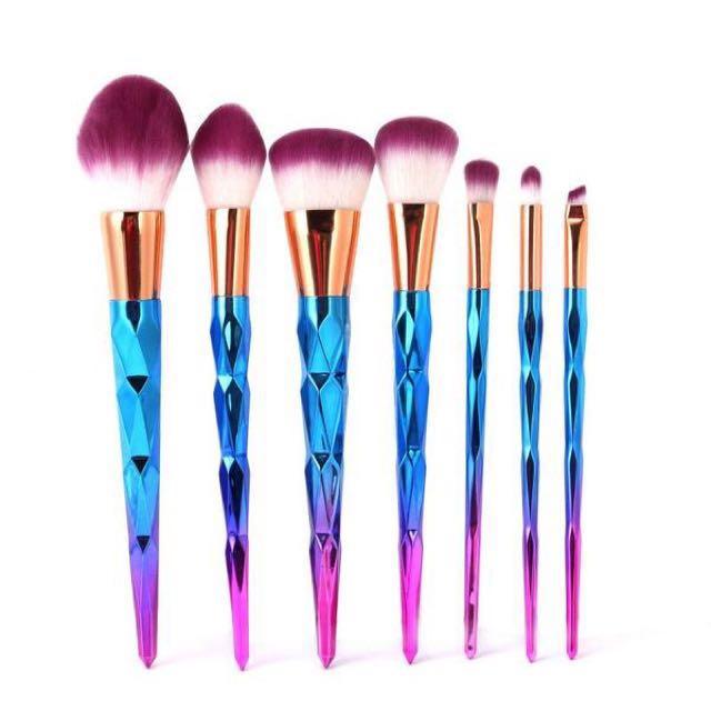 UNICORN 🦄 Make Up Brushes (7 Piece)