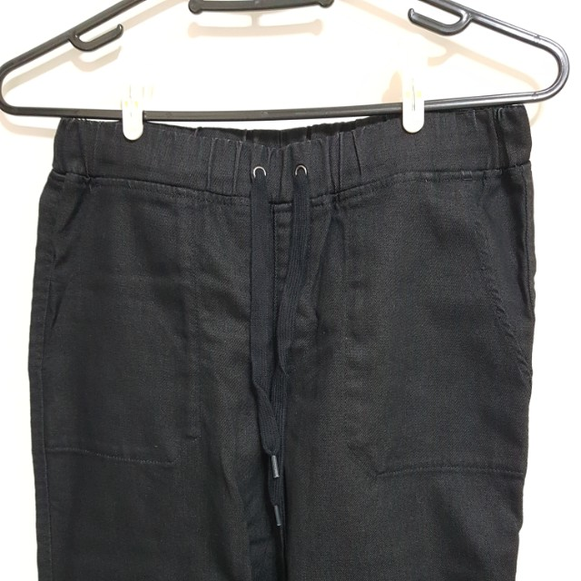Uniqlo 大口袋束口褲 S