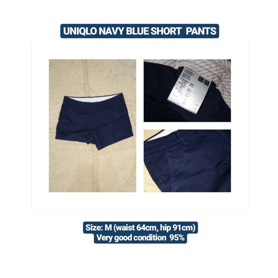 UNIQLO Navy Blue Short Pants