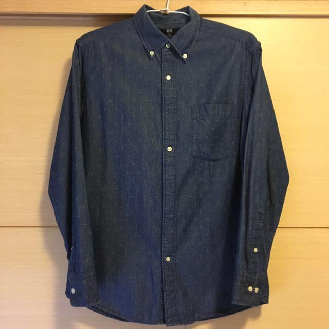 Uniqlo 襯衫(zara gap levis gu 無印良品 可參考)