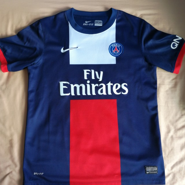 the best attitude 29950 ea50e Used Authentic Paris Saint Germain PSG Away Jersey Youth ...