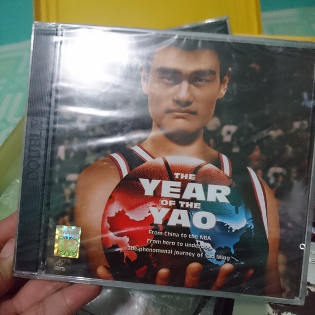 VCDs : Year Of the Yao, Battle of Shaker Heights, The last Mimzy, Sound of Thunder