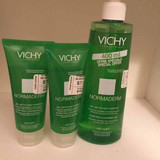 Vichy normaderm purifying gel cleansers