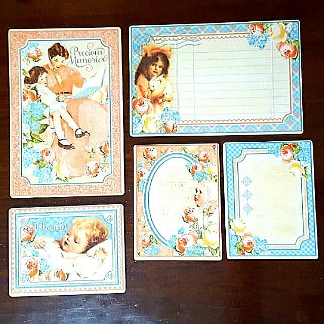 Vintage Journaling cards & Postcards