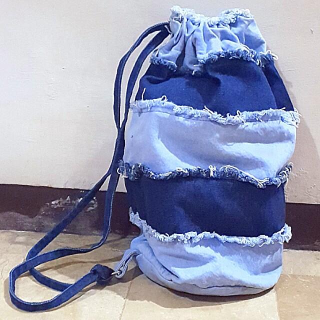 Vintage Old Navy Denim Sling Bag