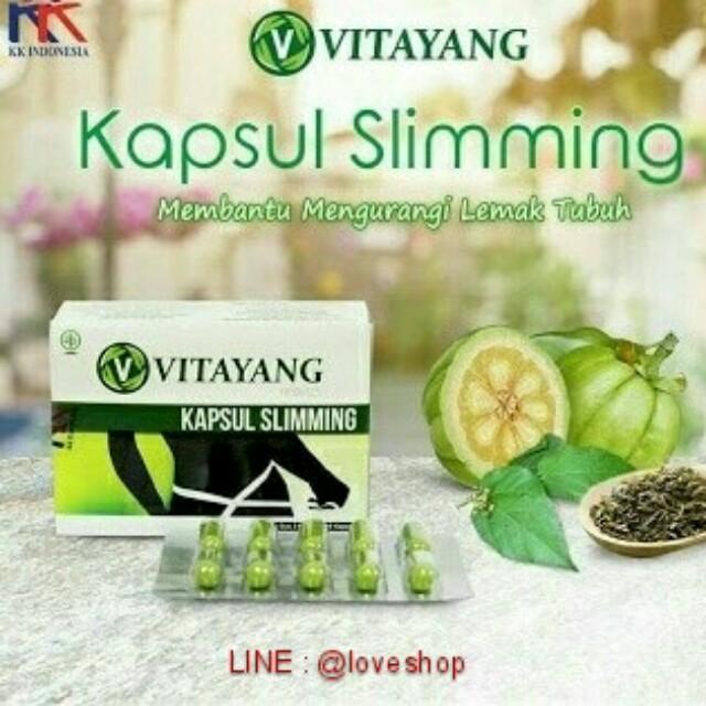 Vitayang Kapsul Slimming Pelangsing Herbal