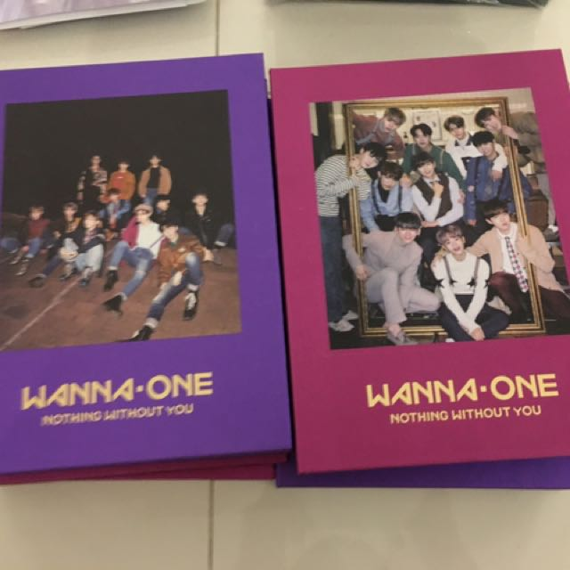 wanna one nothing without you albums