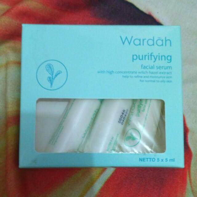 Wardah Purifying facial serum