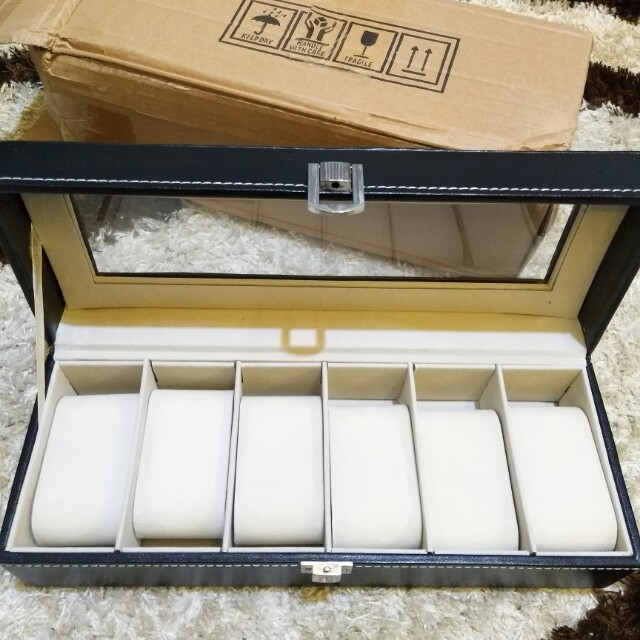 Watch Case Jewelry Tempat Kotak Jam Tangan High quality
