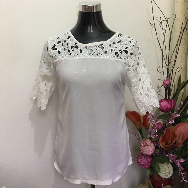 White blouse (S-M)