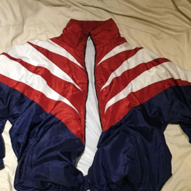 Windbreaker - Red, White & Blue