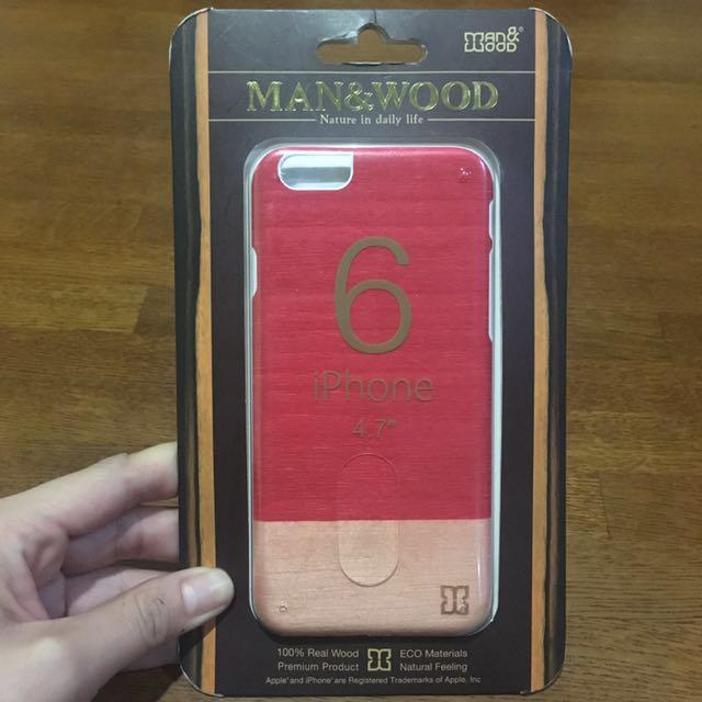 Wood Case design iPhone 6/6s Case