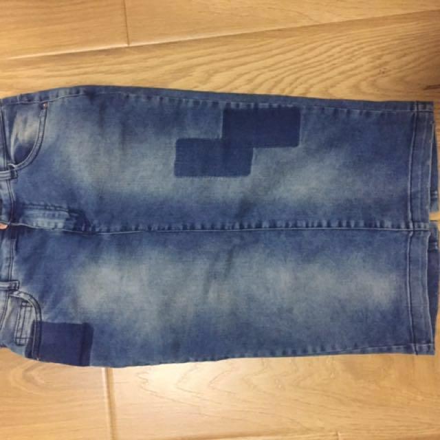 Zara Denim Skirt Size 8#denimcollection