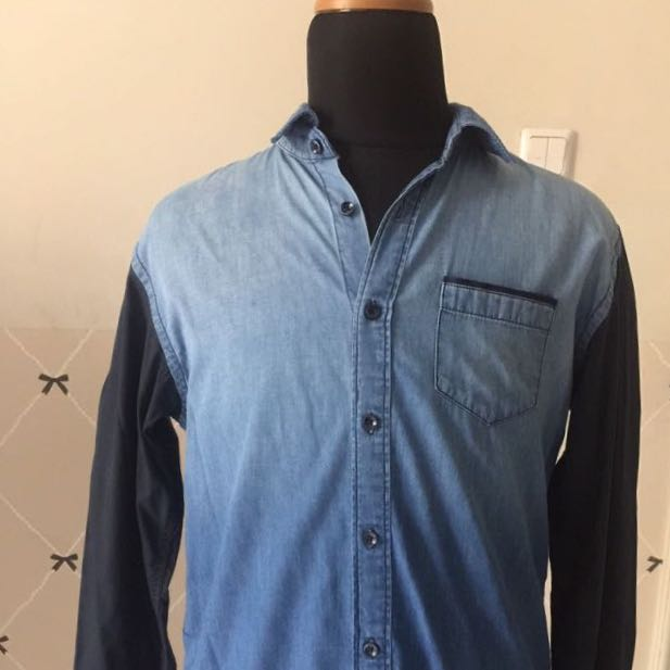 Zara Man Jeans Shirt