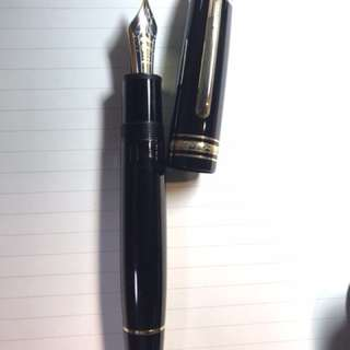 Mont Blanc 149 fountain pen (B nib)