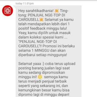 Penjual Ngetop Carousell 😊
