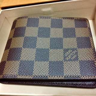 Authentic LV Men Bi-fold Wallet