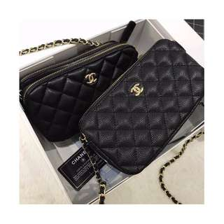 ON SALE -12% 🎀Chanel Double Zipped🎀 Grade 1:1