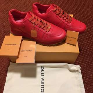 Louis Vuitton LV x Supreme Premium Leather Sneaker
