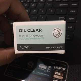 The Face Shop Oil Clear Blotting Powder