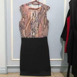 Mango 1-piece office dress